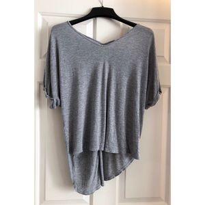 Francesca's - miami high low t-shirt